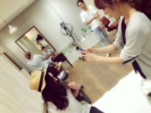 夏の日・・サロンモデル撮影会!    千葉美容室トリコ